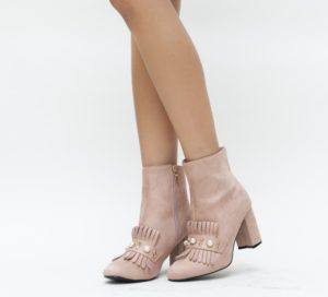Botine Biago Roz comode si confortabile pentru femei pline de stil si eleganta
