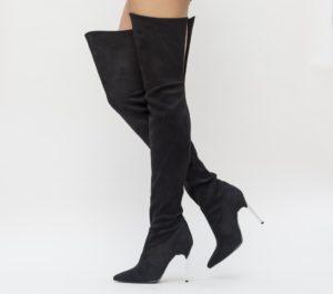Cizme Beri Negre 2 comode si confortabile pentru femei pline de stil si eleganta