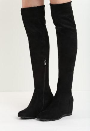 Cizme cu platforma Luxy Negre feminine si moderne pentru femei