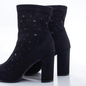 Botine Aldomi negre foarte elegante si comode pentru femei