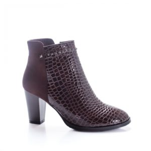 Botine Audemi maro elegante foarte elegante si comode pentru femei