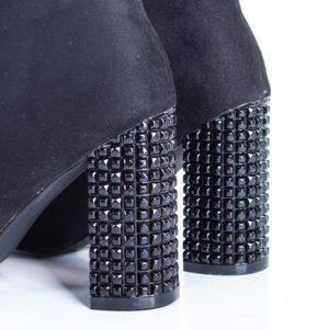 Botine Donaci negre elegante foarte elegante si comode pentru femei