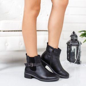 Botine Efrem negre comode foarte elegante si comode pentru femei