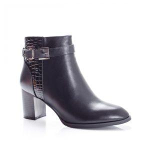 Botine Harimi negre foarte elegante si comode pentru femei