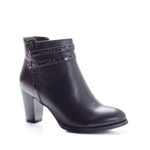 Botine Hemani negre foarte elegante si comode pentru femei