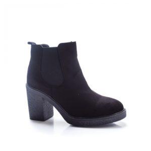 Botine Hemsi negre elegante foarte elegante si comode pentru femei