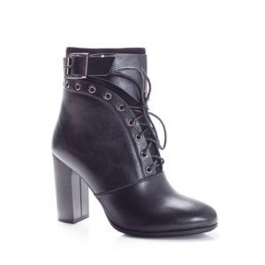 Botine Hevili negre foarte elegante si comode pentru femei
