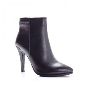 Botine Hobina negre foarte elegante si comode pentru femei
