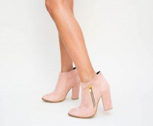 Botine Joxi Roz cu toc elegante pentru femei