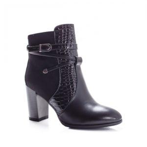 Botine Larivo negre foarte elegante si comode pentru femei