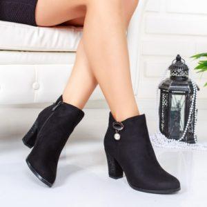 Botine Nedasi negre elegante foarte elegante si comode pentru femei