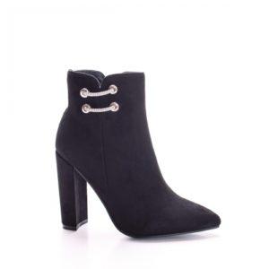 Botine Nicami negre elegante foarte elegante si comode pentru femei