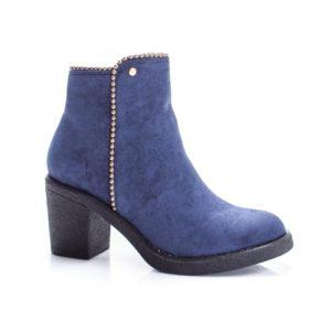Botine Raisamo bleumarine elegante foarte elegante si comode pentru femei
