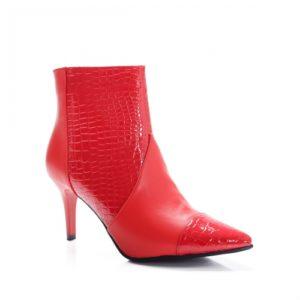 Botine Tasiki rosii foarte elegante si comode pentru femei
