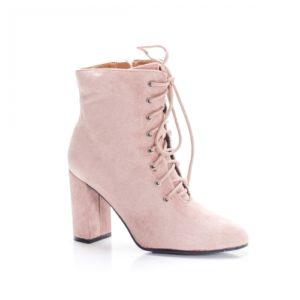 Botine Tumasi roz foarte elegante si comode pentru femei
