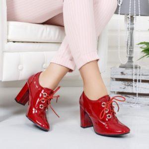 Botine Tunom rosii elegante foarte elegante si comode pentru femei