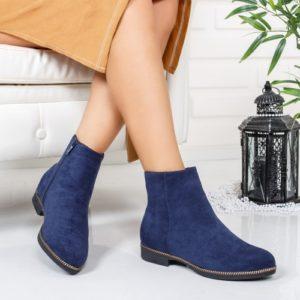Cizme Gromi albastre comode ieftine pentru dama