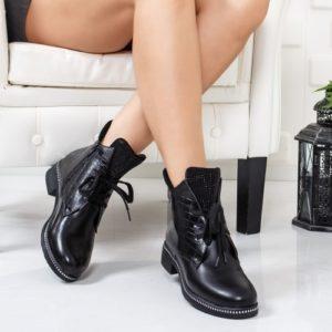 Cizme Huricani negre ieftine pentru dama