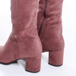 Cizme Kehlani roz cu toc ieftine pentru dama