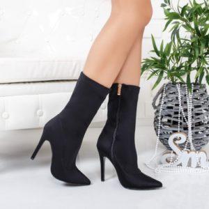 Cizme Slary negre elegante ieftine pentru dama