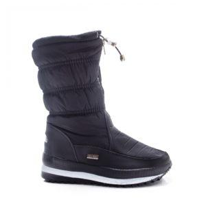 Cizme Snow negre de zapada ieftine pentru dama