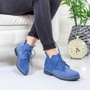 Ghete Ilosino albastre comode ieftine pentru femei