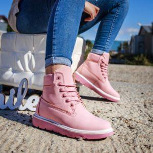 Ghete Smyrna roz comode ieftine pentru femei