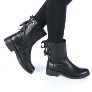 Cizme dama Aponi negre ieftine online