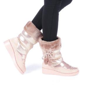 Cizme dama Blandina roz ieftine online