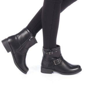 Cizme dama Bolina negre ieftine online