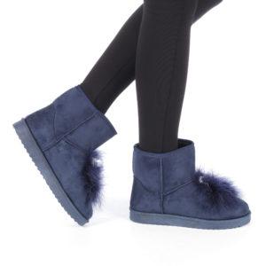 Cizme dama Conoria albastre ieftine online