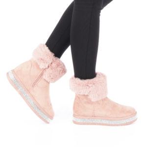 Cizme dama Robica roz ieftine online