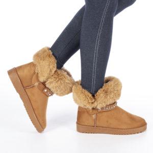 Cizme dama Vittoria camel ieftine online