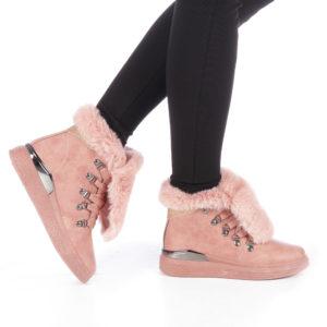 Ghete dama Herminia roz ieftine online